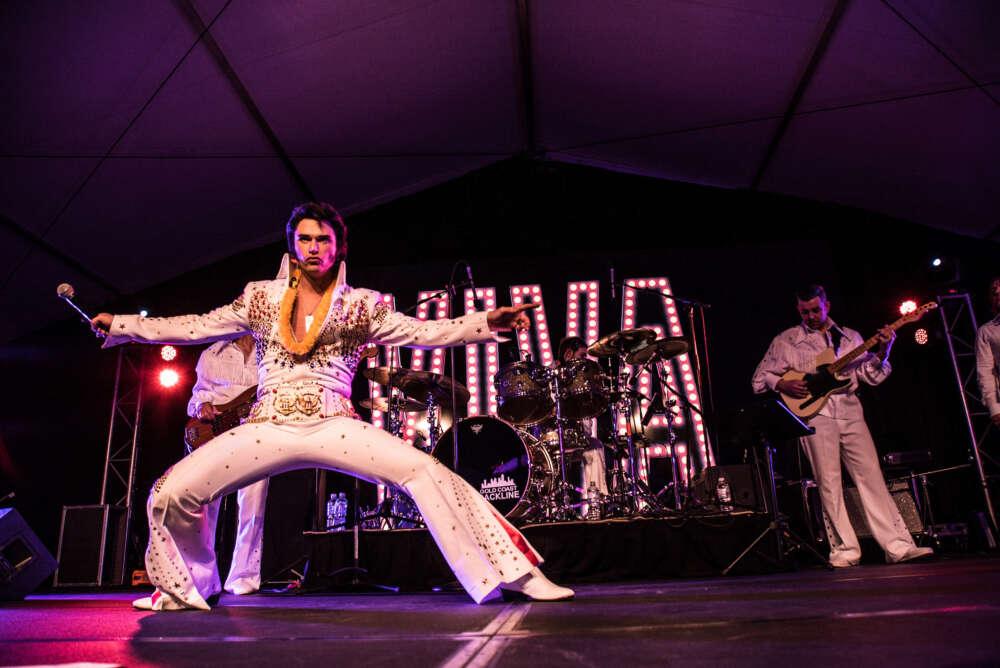 Tributo a Elvis Presley na Zona Sul