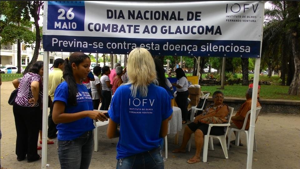 Dia de lembrar e combater o Glaucoma