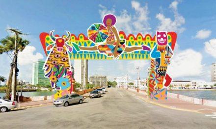Conheça a decoração do carnaval do Recife 2019