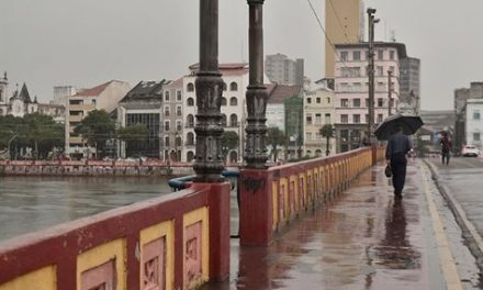 Chove em três horas no Recife o equivalente a 21 dias