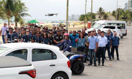 Jaboatão reforça fiscalização ambiental e urbana com drone e novos veículos