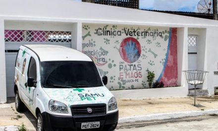 Em Ipojuca, vereador Deoclécio inaugura clínica veterinária para atender animais domésticos de pessoas carentes