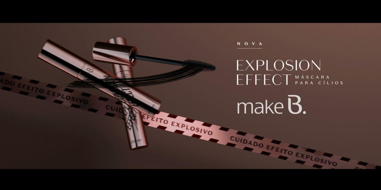Campanha de Make B. Explosion Effect tem Gisele Bündchen como protagonista