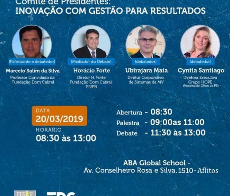 FDC PROMOVE COMITÊ DE PRESIDENTES