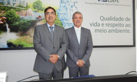 Roberto Tavares segue na presidência da Aesbe até o próximo mês de julho